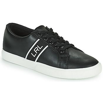 Zapatos Mujer Zapatillas bajas Lauren Ralph Lauren JANSON II Negro