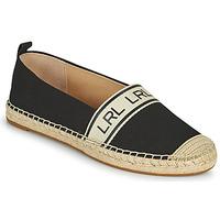 Zapatos Mujer Alpargatas Lauren Ralph Lauren CAYLEE Negro