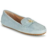 Zapatos Mujer Mocasín Lauren Ralph Lauren BARNSBURY FLATS CASUAL Azul / Celeste