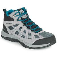 Zapatos Hombre Senderismo Columbia REDMOND III MID WATERPROOF Gris