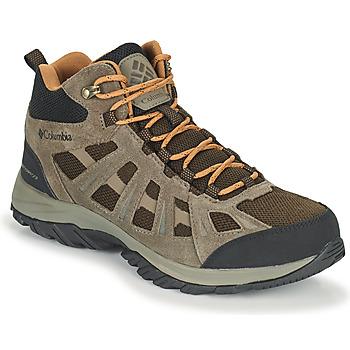 Zapatos Hombre Senderismo Columbia REDMOND III MID WATERPROOF Marrón