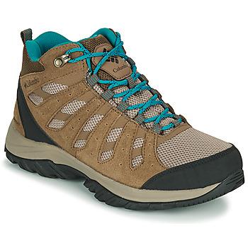 Zapatos Mujer Senderismo Columbia REDMOND III MID WATERPROOF Beige