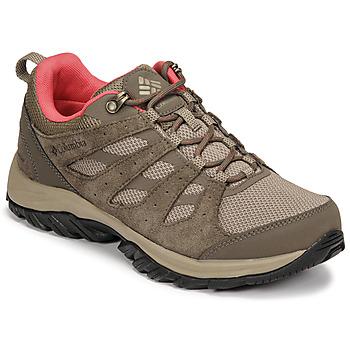 Zapatos Mujer Senderismo Columbia REDMOND III WATERPROOF Marrón