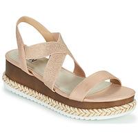 Zapatos Mujer Sandalias Elue par nous JELLYA Rosa / Plata