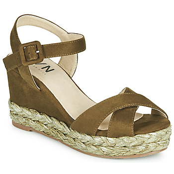 Zapatos Mujer Sandalias Elue par nous JOHAN Verde