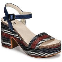 Zapatos Mujer Sandalias Elue par nous JOKARY Azul