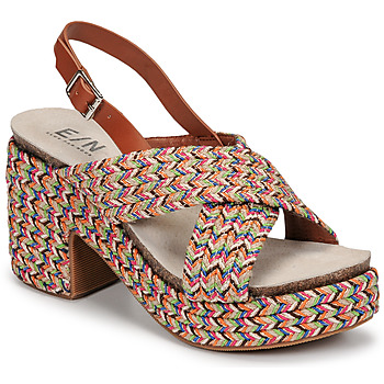 Zapatos Mujer Sandalias Elue par nous JOMARIN Beige