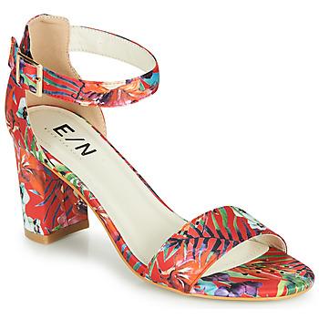Zapatos Mujer Sandalias Elue par nous JOUAL Rojo