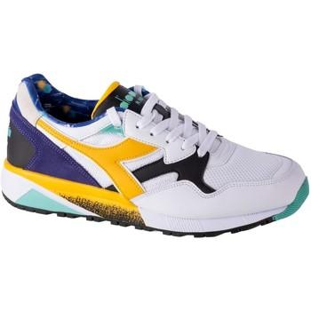Zapatos Hombre Zapatillas bajas Diadora N9002 Kromadecka Blanco, Azul, Amarillos