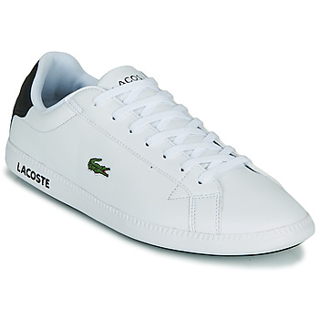 Zapatos Hombre Zapatillas bajas Lacoste GRADUATE 0120 2 SMA Blanco / Negro