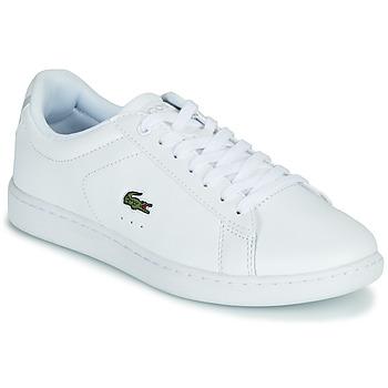 Zapatos Mujer Zapatillas bajas Lacoste CARNABY EVO BL 21 1 SFA Blanco