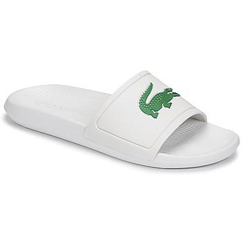 Zapatos Hombre Chanclas Lacoste CROCO SLIDE 119 1 CMA Blanco / Verde