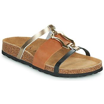Zapatos Mujer Zuecos (Mules) Metamorf'Ose JA Marrón