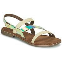 Zapatos Mujer Sandalias Metamorf'Ose JALADIN Blanco