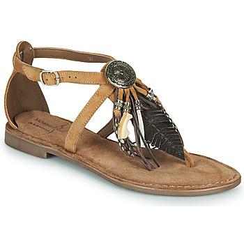 Zapatos Mujer Sandalias Metamorf'Ose JALAP Beige