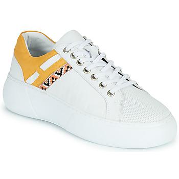 Zapatos Mujer Zapatillas bajas Metamorf'Ose JANINA Amarillo