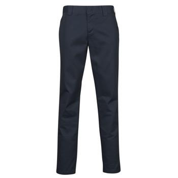 textil Hombre Pantalones con 5 bolsillos Dickies SLIM FIT WORK PNT Marino