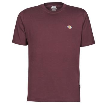textil Hombre Camisetas manga corta Dickies MAPLETON Burdeo
