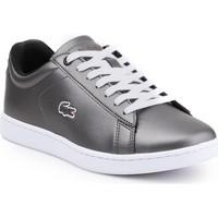 Zapatos Mujer Zapatillas bajas Lacoste Carnaby Evo 317 7-34SPW0010024 plata
