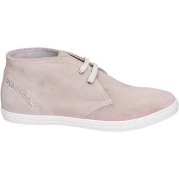 Zapatos Niña Mocasín Nero Giardini Botines Gamuza Beige