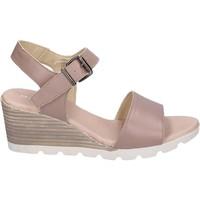 Zapatos Mujer Sandalias Rizzoli BK598 Beige