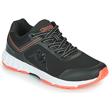 Zapatos Mujer Fitness / Training Kappa FASTER Negro / Rosa
