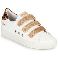 Zapatos Mujer Zapatillas bajas Semerdjian GARBIS Blanco / Oro
