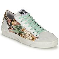 Zapatos Mujer Zapatillas bajas Semerdjian ELISE Blanco / Marrón