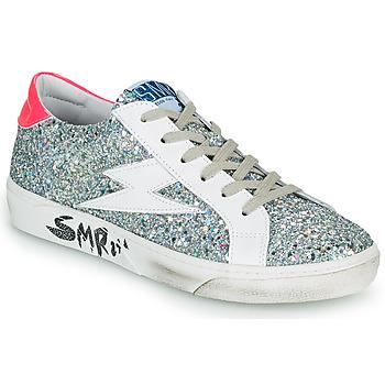 Zapatos Mujer Zapatillas bajas Semerdjian CATRI Plata / Rosa