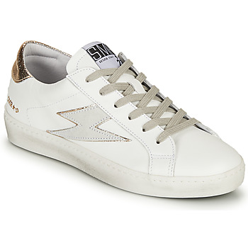 Zapatos Mujer Zapatillas bajas Semerdjian CATRI Blanco / Oro
