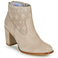 Zapatos Mujer Botines Dorking ALEXA Beige
