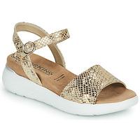 Zapatos Mujer Sandalias Dorking ROCK Oro
