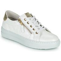 Zapatos Mujer Zapatillas bajas Dorking VIP Blanco / Plata