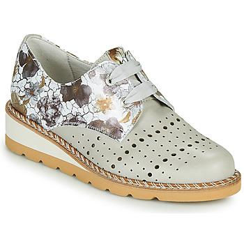 Zapatos Mujer Derbie Dorking TETRIS Gris