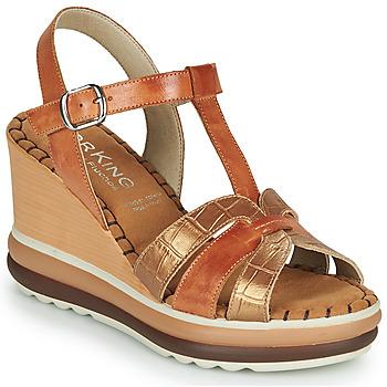 Zapatos Mujer Sandalias Dorking TOTEM Marrón
