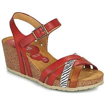 Zapatos Mujer Sandalias Dorking PALMA Rojo