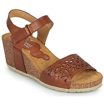 Zapatos Mujer Sandalias Dorking PALMA Marrón