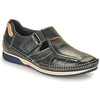 Zapatos Hombre Sandalias Fluchos TORNADO Marino