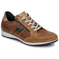 Zapatos Hombre Zapatillas bajas Fluchos 0207-AFELPADO-CAMEL Marrón