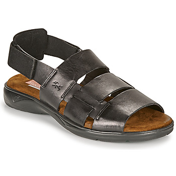 Zapatos Hombre Sandalias Fluchos 1200-SURF-NEGRO Negro