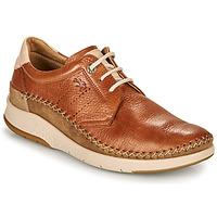 Zapatos Hombre Zapatillas bajas Fluchos 0795-TORNADO-CUERO Marrón
