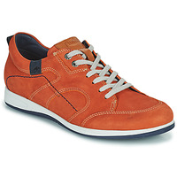 Zapatos Hombre Zapatillas bajas Fluchos 9734-CRETA-CUERO Marrón