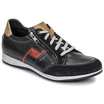 Zapatos Hombre Zapatillas bajas Fluchos 0207-AFELPADO-MARINO Marino