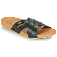 Zapatos Mujer Chanclas Reef CUSHION SPRING BLOOM Negro