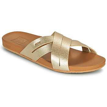 Zapatos Mujer Chanclas Reef CUSHION SPRING BLOOM Oro