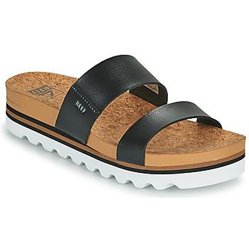 Zapatos Mujer Chanclas Reef CUSHION VISTA HI Negro
