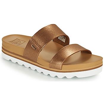 Zapatos Mujer Chanclas Reef CUSHION VISTA HI Marrón