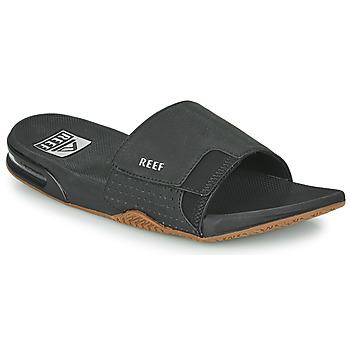 Zapatos Hombre Chanclas Reef FANNING SLIDE Negro