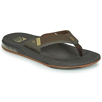 Zapatos Hombre Chanclas Reef FANNING LOW Marrón