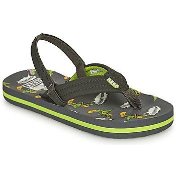 Zapatos Niño Chanclas Reef LITTLE AHI Gris